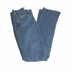 Hollister Bootcut Jeans, Blue, Size 1R 25/33